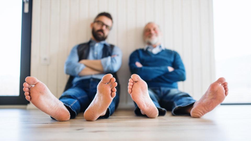 Pedicure podologiczny niezbędny również dla mężczyzn